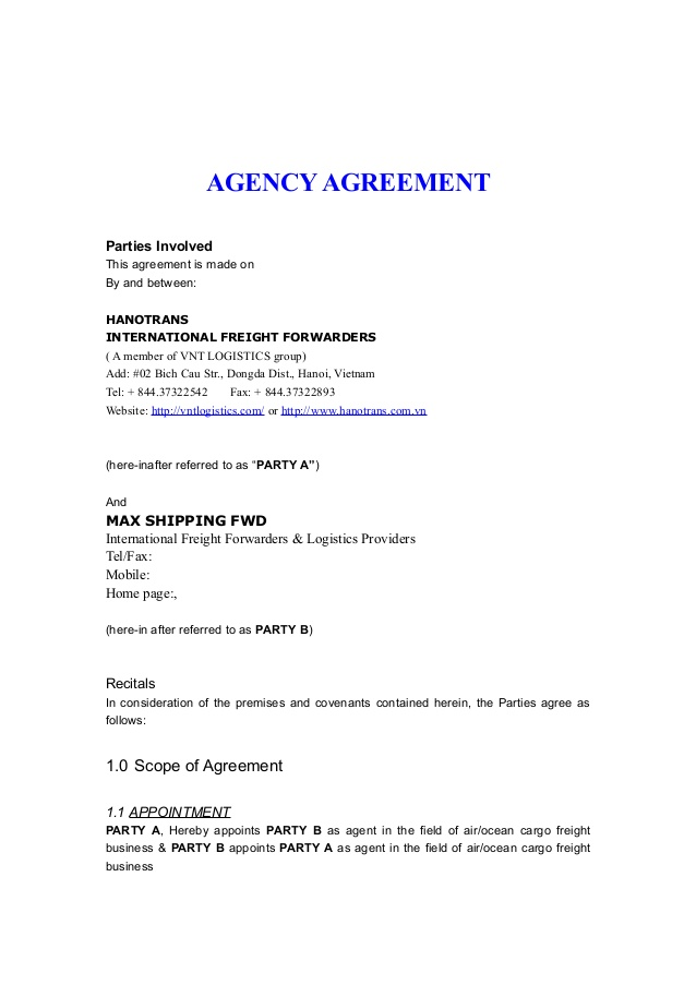 Top China Shipping Agent China Shipping Agent Agreement